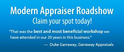 Save your seat at the Modern Appraiser Roadshow